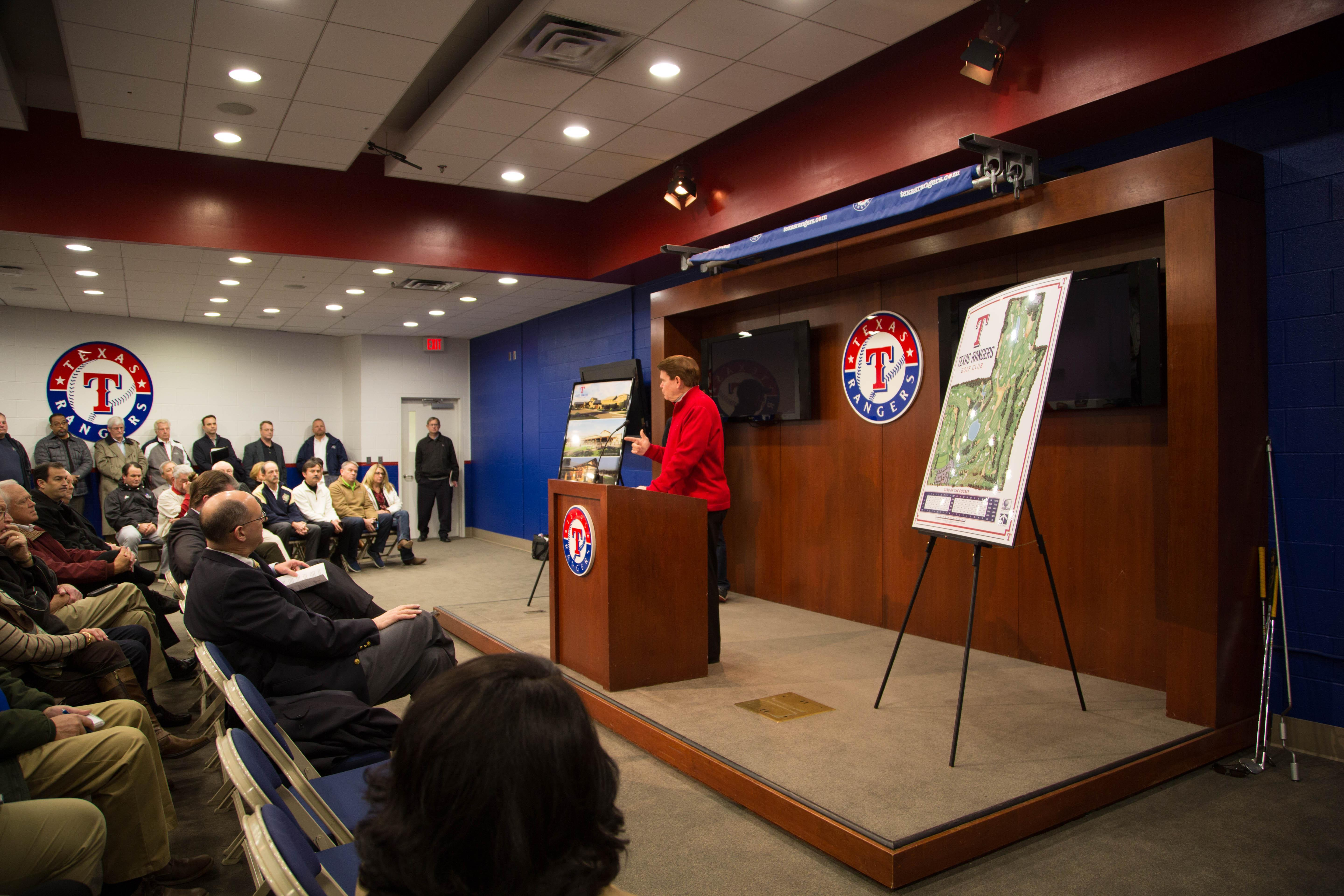 Texas Rangers Golf Club Press Conference 8